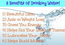 Water benefits the body in many ways. Here are just 6 ways water benefits us.